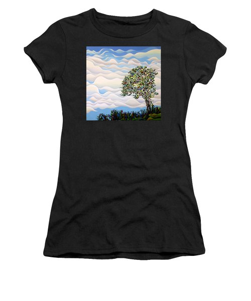 Westward Yearning Tree Women's T-Shirt (Athletic Fit)