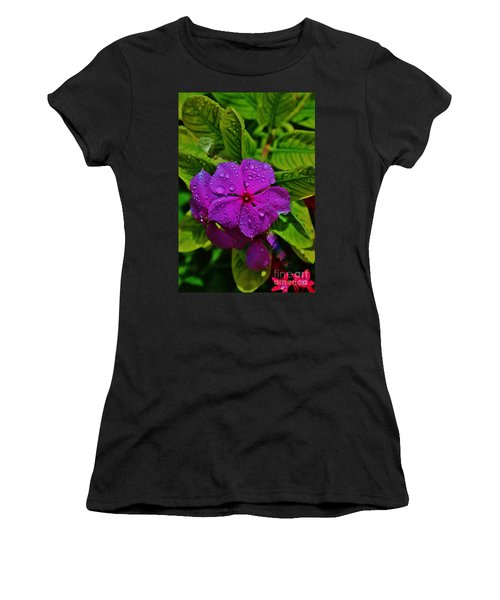Wet And Wild Women's T-Shirt (Athletic Fit)