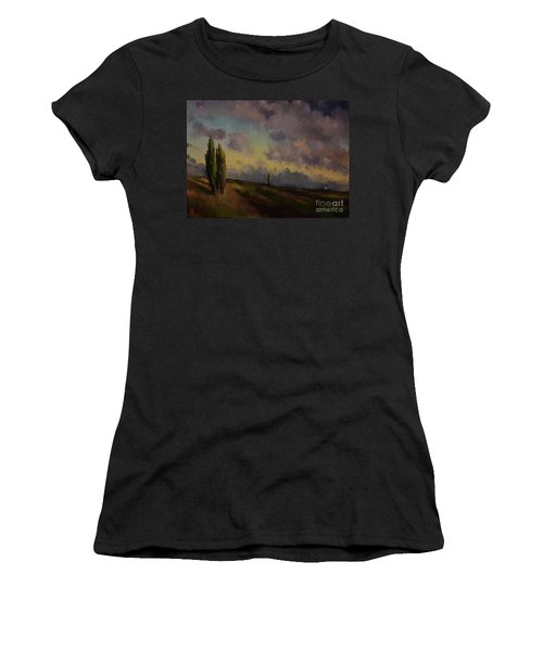 Wet Sky Women's T-Shirt (Athletic Fit)