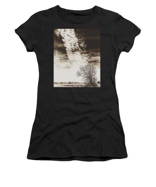 Wetlands Meet Chemtrails Women's T-Shirt