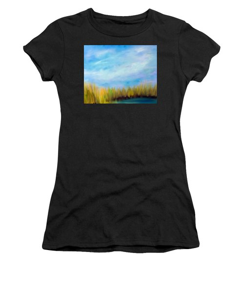 Wetlands Morning Women's T-Shirt (Athletic Fit)