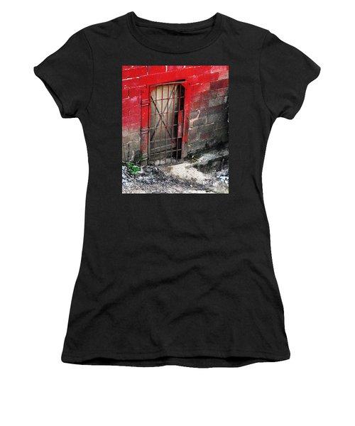 What Lies Behind The Door Women's T-Shirt