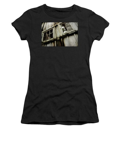 Women's T-Shirt (Junior Cut) featuring the photograph What Lies Within by Mike Eingle