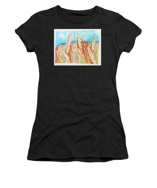 Wheat Field Women's T-Shirt