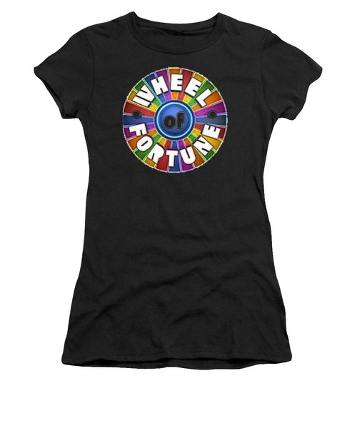 Wheel Of Fortune T-shirt Women's T-Shirt (Athletic Fit)
