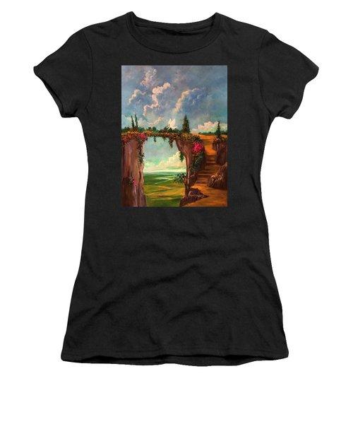 When Angels Garden In Heaven Women's T-Shirt