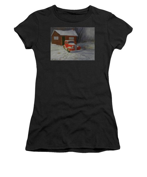 When Cars Were Big And Homes Were Small Women's T-Shirt