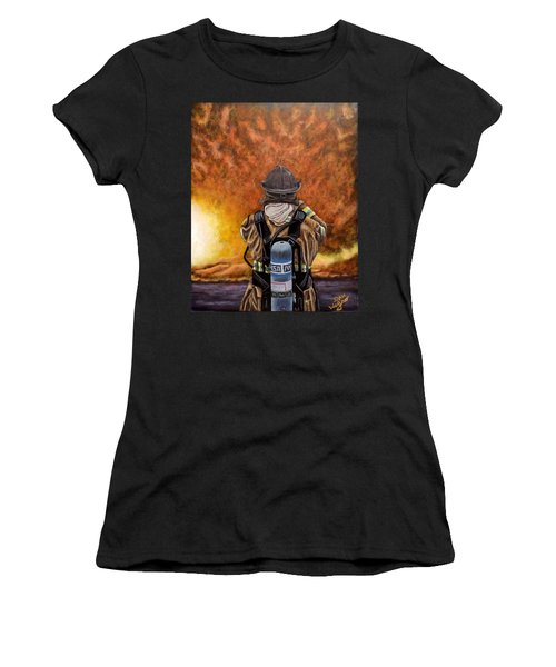 When Hell Comes To Visit Women's T-Shirt