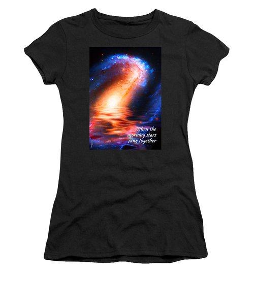 When The Morning Stars Sang Women's T-Shirt
