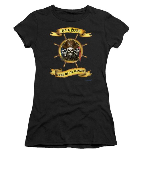 Where Be The Treasure? Women's T-Shirt (Athletic Fit)