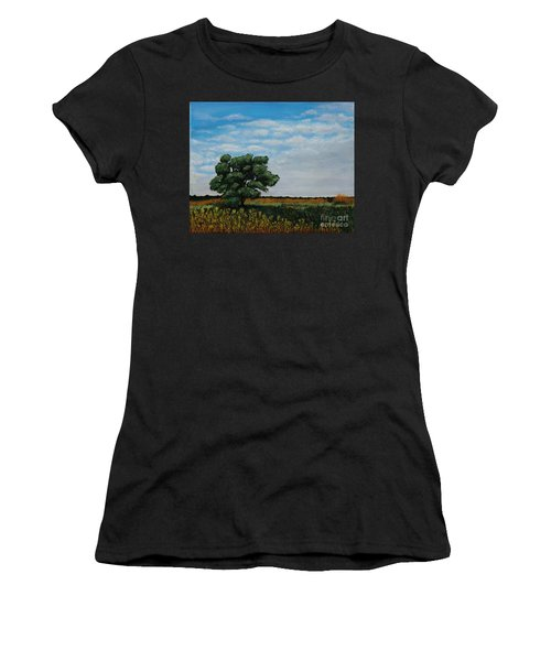 Where The Fields Meet Women's T-Shirt (Athletic Fit)