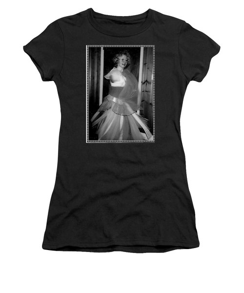 Women's T-Shirt (Athletic Fit) featuring the photograph Whirling Dervish by Denise Fulmer