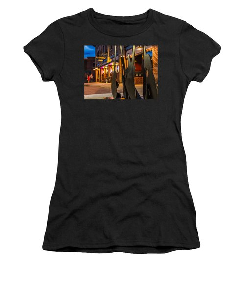Whiskerz And Guitar Icons Women's T-Shirt