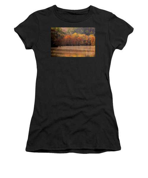 Women's T-Shirt (Junior Cut) featuring the photograph Whispering Mist by Iris Greenwell