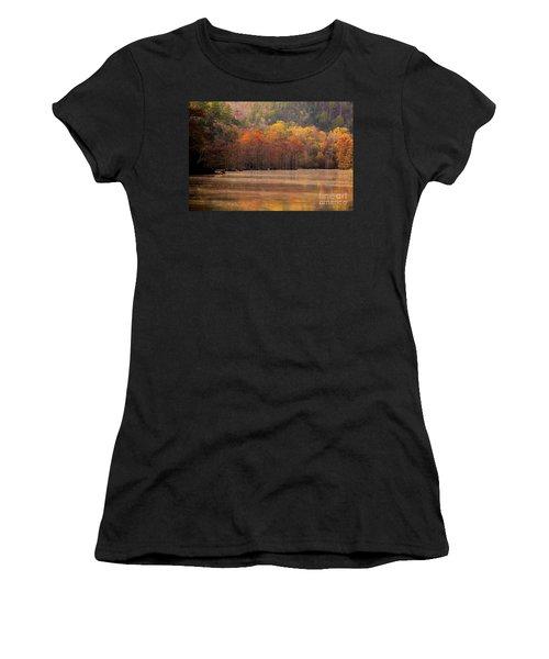 Whispering Mist Women's T-Shirt (Athletic Fit)
