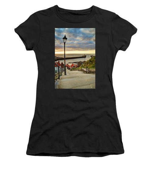 Whitby Sun Set Women's T-Shirt