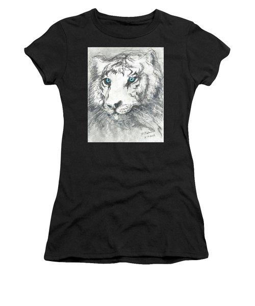 White Bengal Tiger Women's T-Shirt