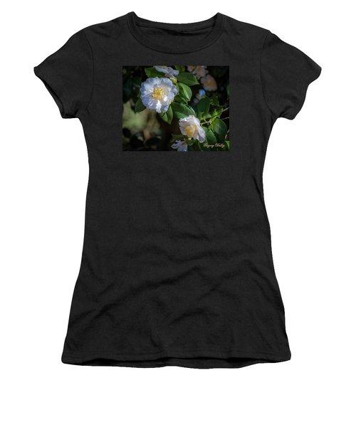 White Camelia 02 Women's T-Shirt