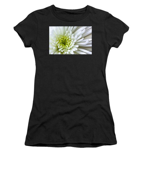 White Chrysanthemum Women's T-Shirt