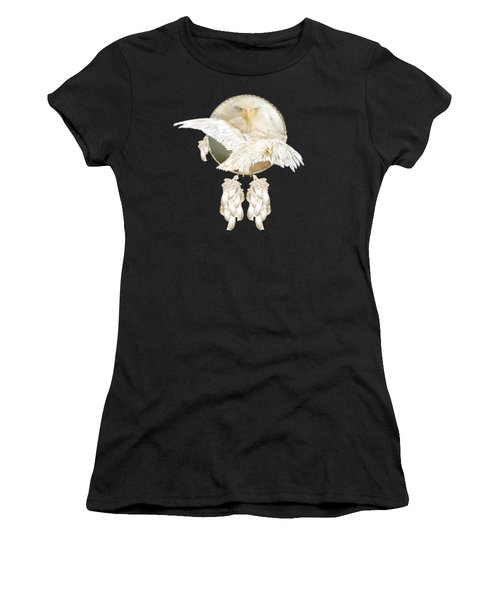 White Eagle Dreams Women's T-Shirt (Athletic Fit)