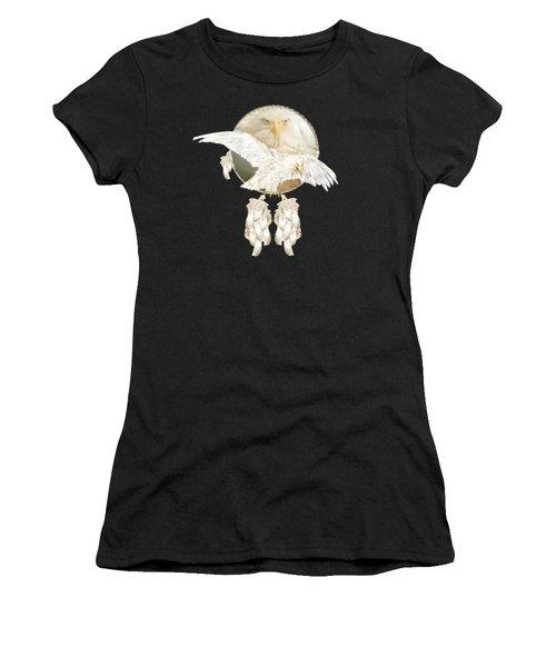 White Eagle Dreams Women's T-Shirt (Athletic Fit)