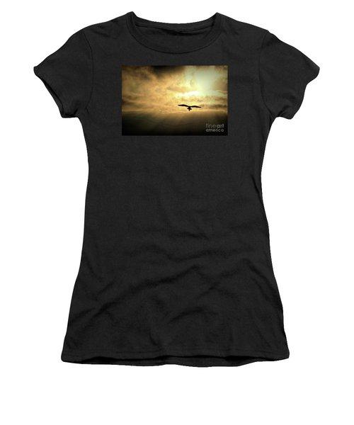White Light Sunrise Women's T-Shirt (Athletic Fit)