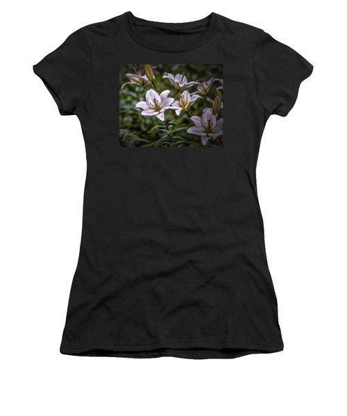 White Lilies #g5 Women's T-Shirt