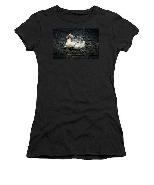 White Pekin Duck Women's T-Shirt