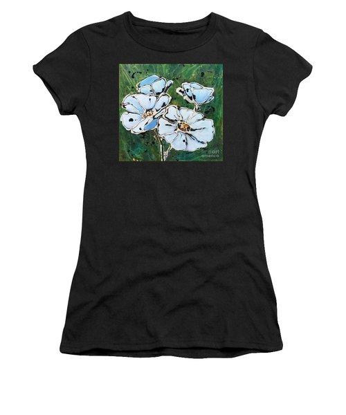 White Poppies Women's T-Shirt