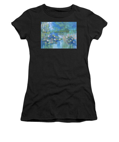 White Water Lilies Women's T-Shirt