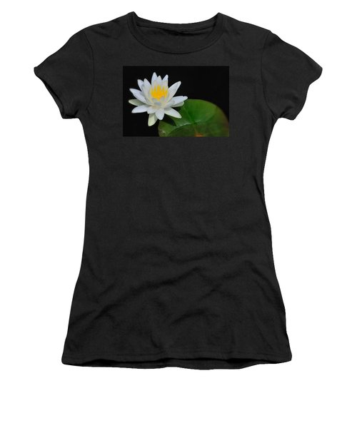 White Water Lily Women's T-Shirt (Athletic Fit)