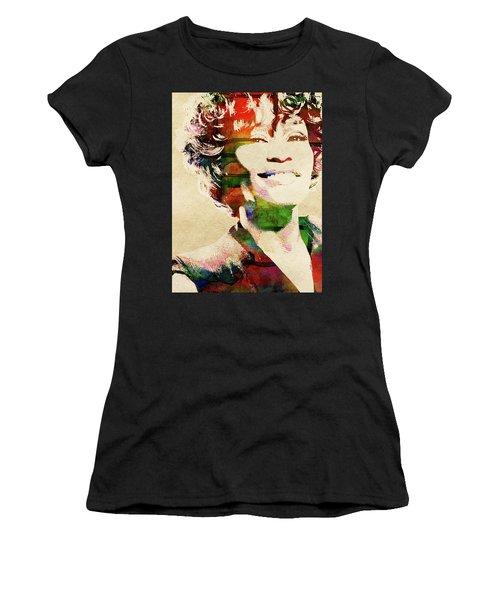 Whitney Houston Women's T-Shirt (Athletic Fit)
