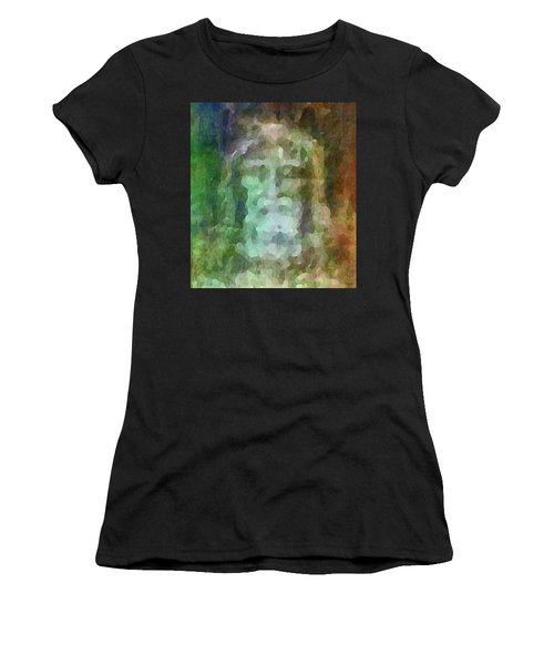 Who Do Men Say That I Am - The Shroud Women's T-Shirt (Athletic Fit)