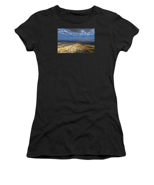 Wide View From Masada Women's T-Shirt (Athletic Fit)