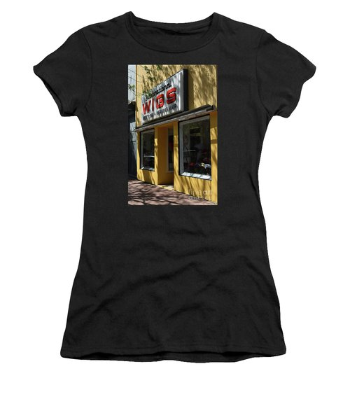 Women's T-Shirt (Junior Cut) featuring the photograph Wigs by Skip Willits