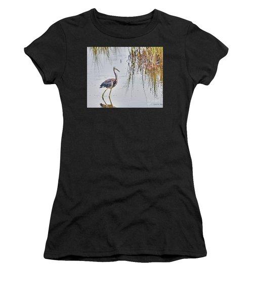 Wild Birds - Tricolored Heron Women's T-Shirt