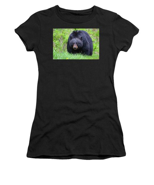 Wild Black Bear Women's T-Shirt