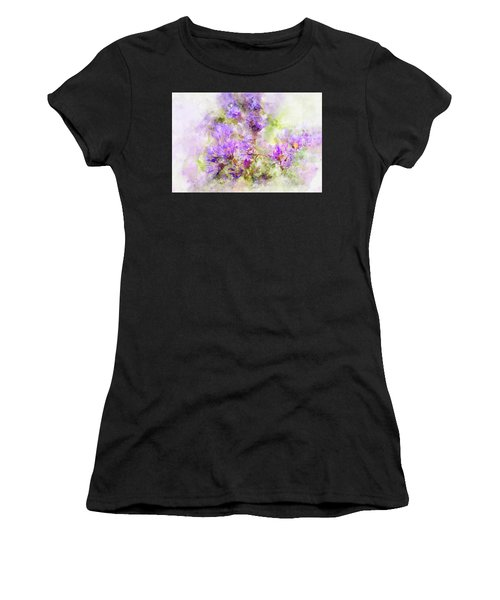 Wild Flowers In The Fall Watercolor Women's T-Shirt