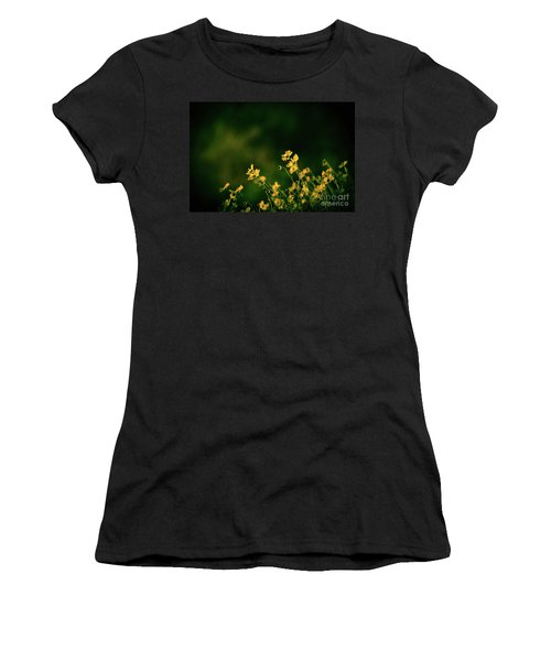 Evening Wild Flowers Women's T-Shirt (Athletic Fit)