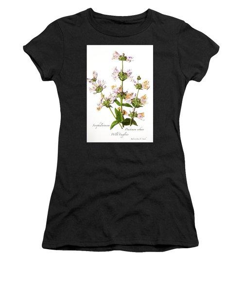 Wild Foxglove Women's T-Shirt (Athletic Fit)