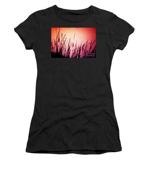 Wild Grasses Women's T-Shirt (Athletic Fit)