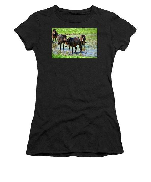 Wild Horses 4 Women's T-Shirt