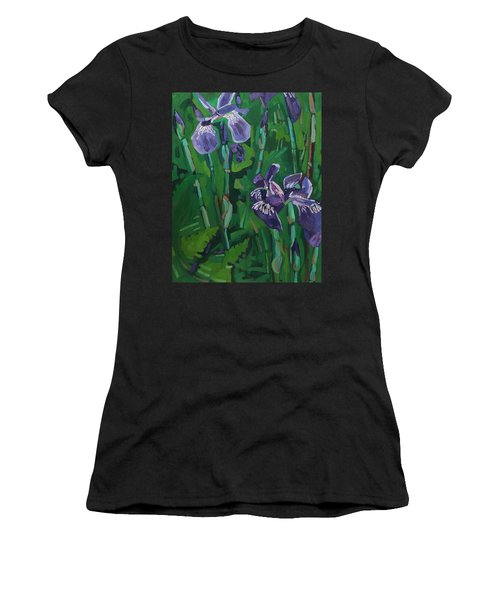 Wild Iris Women's T-Shirt (Athletic Fit)