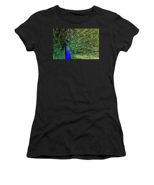 Wild Peacock Women's T-Shirt (Athletic Fit)