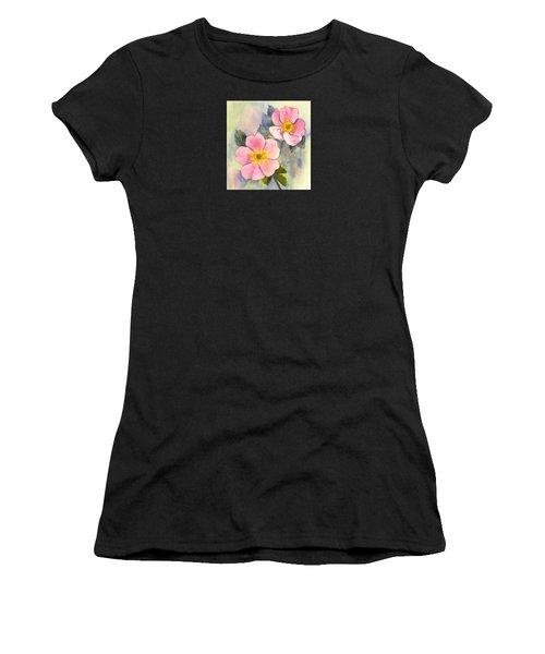 Wild Roses - Glacier Women's T-Shirt