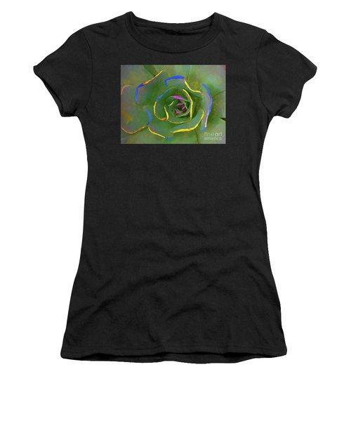 Wild Succulent Women's T-Shirt (Athletic Fit)