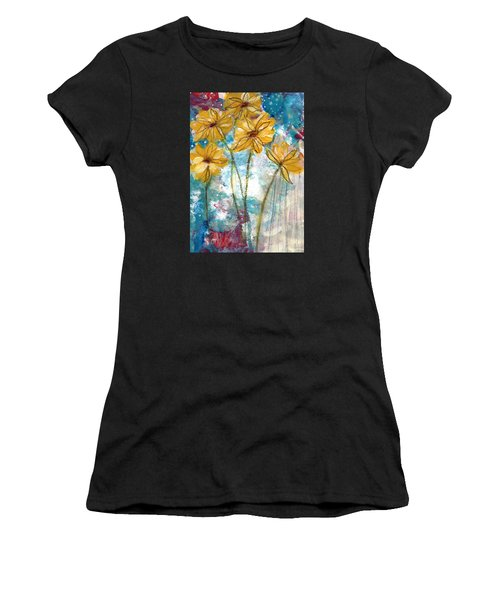 Wild Sunflowers- Art By Linda Woods Women's T-Shirt