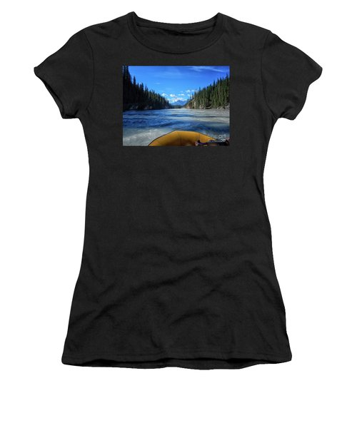 Wild Water Rafting Women's T-Shirt (Athletic Fit)