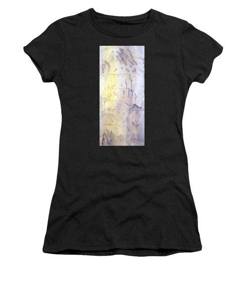 Wilderness Calligraphy - Aspen Tree Women's T-Shirt