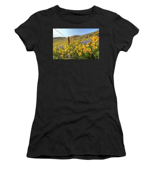 Wildflower Bonanza Women's T-Shirt (Athletic Fit)